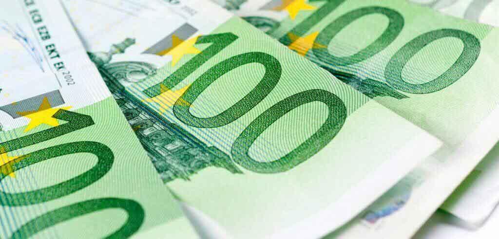 100 Euro banknoten
